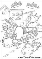 Pintar e Colorir Chicken Little - Desenho 080