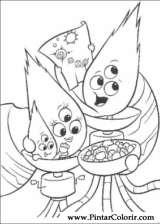 Pintar e Colorir Chicken Little - Desenho 083