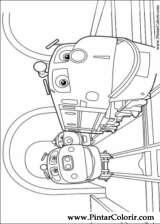Pintar e Colorir Chuggington - Desenho 002