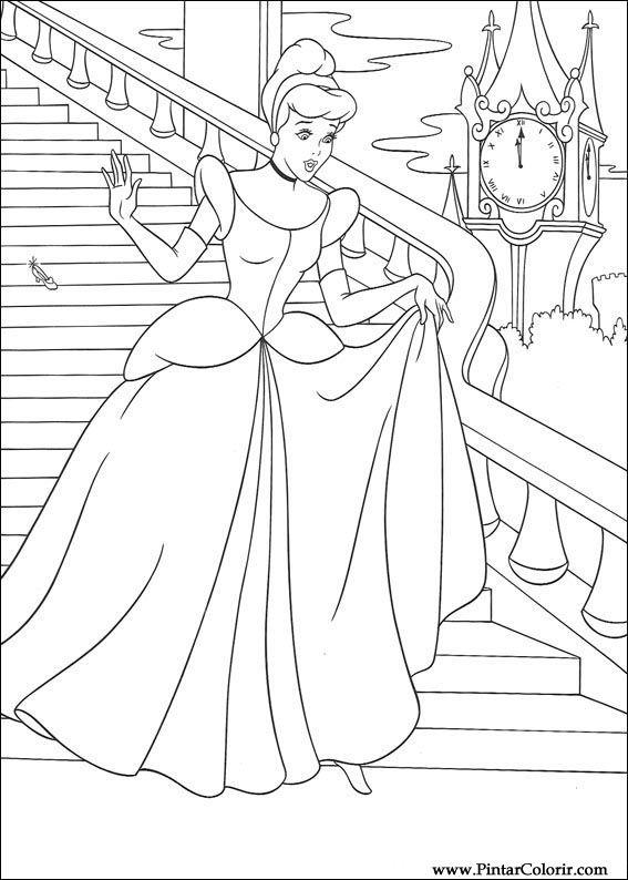 Prenses Sindirella Boyama Gazetesujin