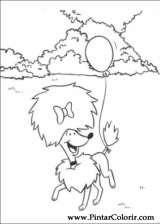 Pintar e Colorir Clifford - Desenho 009