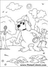 Pintar e Colorir Clifford - Desenho 034