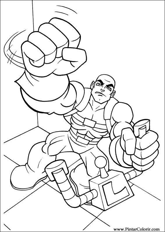 Dibujos Para Pintar Y Color Dc Comics Diseño De Impresión 012