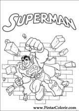 Pintar e Colorir Dc Comics - Desenho 001