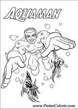 Pintar e Colorir Dc Comics - Desenho 005