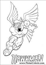 Pintar e Colorir Dc Comics - Desenho 008