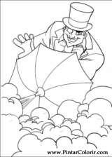 Pintar e Colorir Dc Comics - Desenho 013