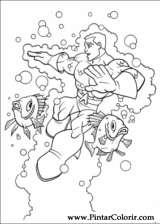 Pintar e Colorir Dc Comics - Desenho 015