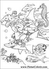 Pintar e Colorir Dc Comics - Desenho 016