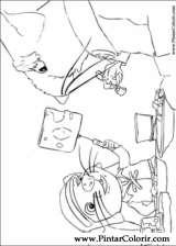 Pintar e Colorir Despereaux - Desenho 007