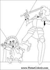 Pintar e Colorir Despereaux - Desenho 009