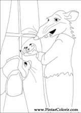 Pintar e Colorir Despereaux - Desenho 013