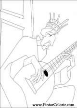 Pintar e Colorir Despereaux - Desenho 018