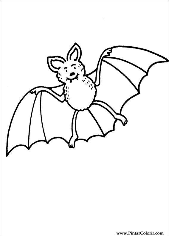 Desenhos Para Pintar E Colorir Dia Das Bruxas Imprimir Desenho 011