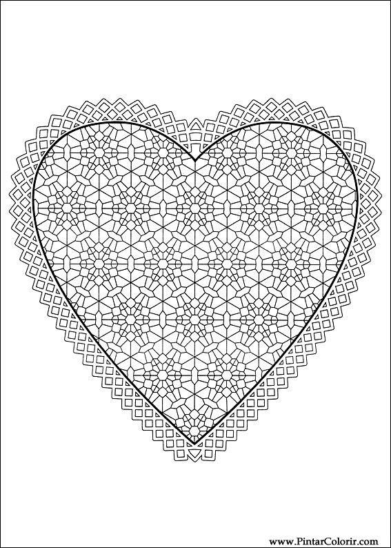 çizimler Boya Ve Renk Günü Sevgililer Için Baskı Tasarım 012