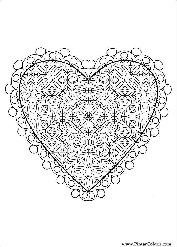 Kleurplaat Printen Van Prinsessen Tekeningen Te Schilderen Amp Kleur Valentijnsdag Print