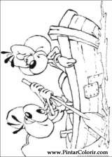 Pintar e Colorir Diddl - Desenho 008