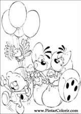 Pintar e Colorir Diddl - Desenho 009