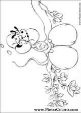 Pintar e Colorir Diddl - Desenho 012