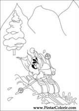 Pintar e Colorir Diddl - Desenho 015