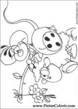 Pintar e Colorir Diddl - Desenho 016