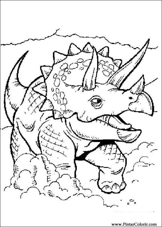 恐竜をペイント&カラー , 062