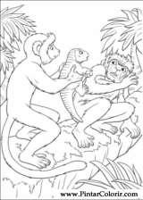 Pintar e Colorir Dinossauro - Desenho 003