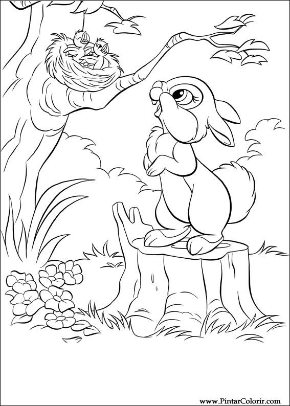 Desenhos Para Pintar E Colorir Disney Bunnies Imprimir Desenho 008