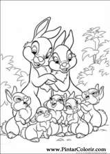 Pintar e Colorir Disney Bunnies - Desenho 014