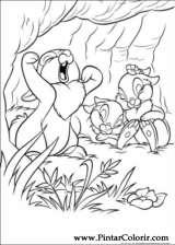 Pintar e Colorir Disney Bunnies - Desenho 015
