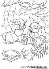 Pintar e Colorir Disney Bunnies - Desenho 016