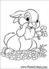 Pintar e Colorir Disney Bunnies - Desenho 018