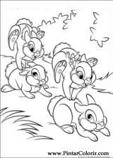 Pintar e Colorir Disney Bunnies - Desenho 024