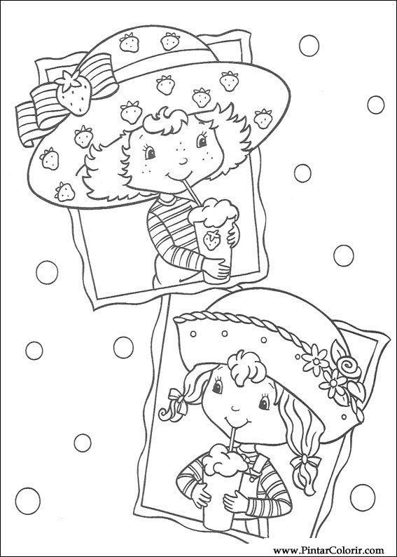 çizimler Boya Ve Renk çilek Sevgiliye Için Baskı Tasarım 011