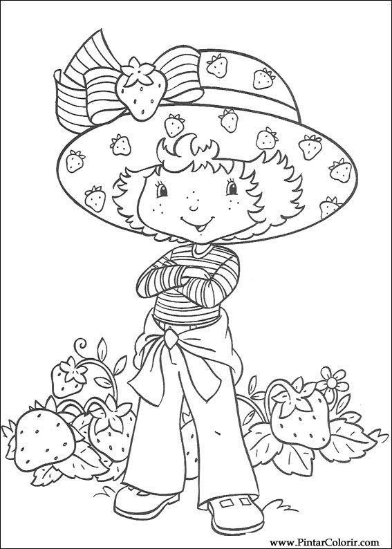 çizimler Boya Ve Renk çilek Sevgiliye Için Baskı Tasarım 034
