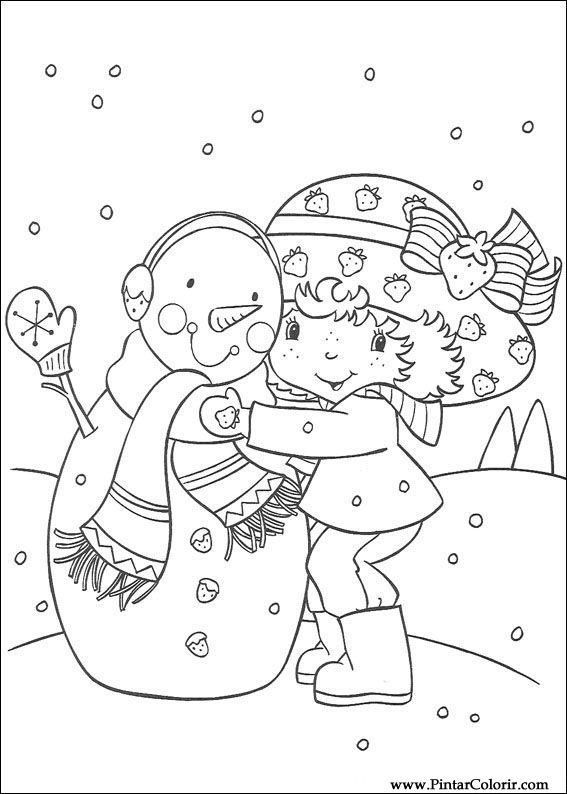 Gratis Kleurplaten Marsupilami.Tekeningen Te Schilderen Kleur Strawberry Sweetheart Print