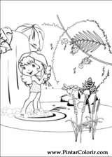 Pintar e Colorir Docinho De Morango - Desenho 001