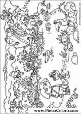 Pintar e Colorir Dora A Aventureira - Desenho 044