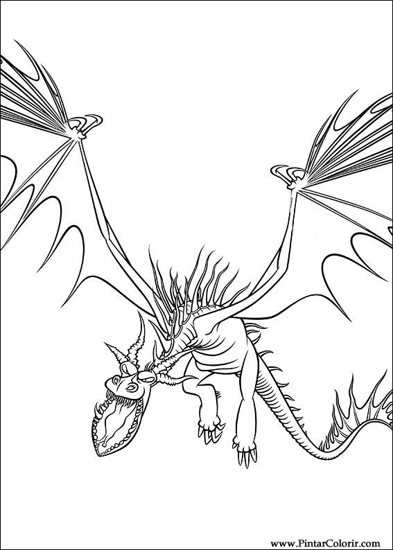 Drawings To Paint amp Colour Dragon