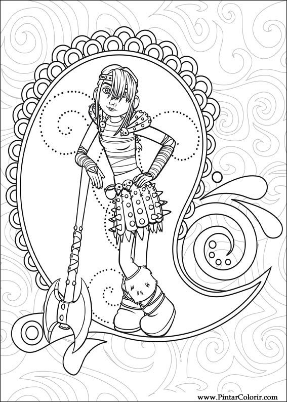 Desenhos Para Pintar E Colorir Dragao Imprimir Desenho 012