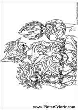 Pintar e Colorir Dragon Ball Z - Desenho 028