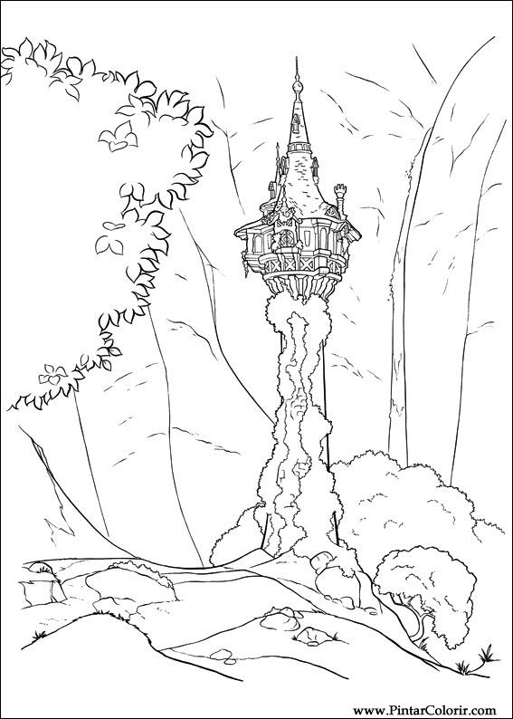 Desenhos Para Pintar E Colorir Enrolados Imprimir Desenho 015