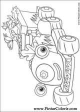 Pintar e Colorir Fifi Flowertots - Desenho 001
