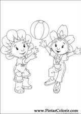 Pintar e Colorir Fifi Flowertots - Desenho 011