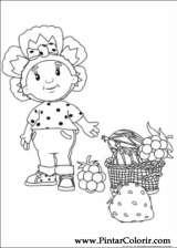 Pintar e Colorir Fifi Flowertots - Desenho 021