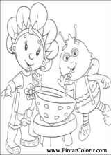 Pintar e Colorir Fifi Flowertots - Desenho 029