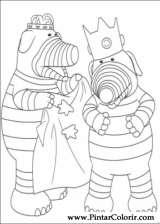 Pintar e Colorir Fimbles - Desenho 028
