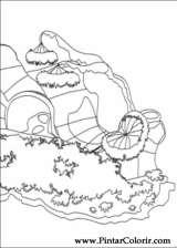 Pintar e Colorir Fimbles - Desenho 032