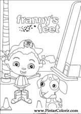 Pintar e Colorir Franny - Desenho 001