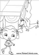 Pintar e Colorir Franny - Desenho 026